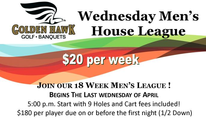 wednesday men golf league