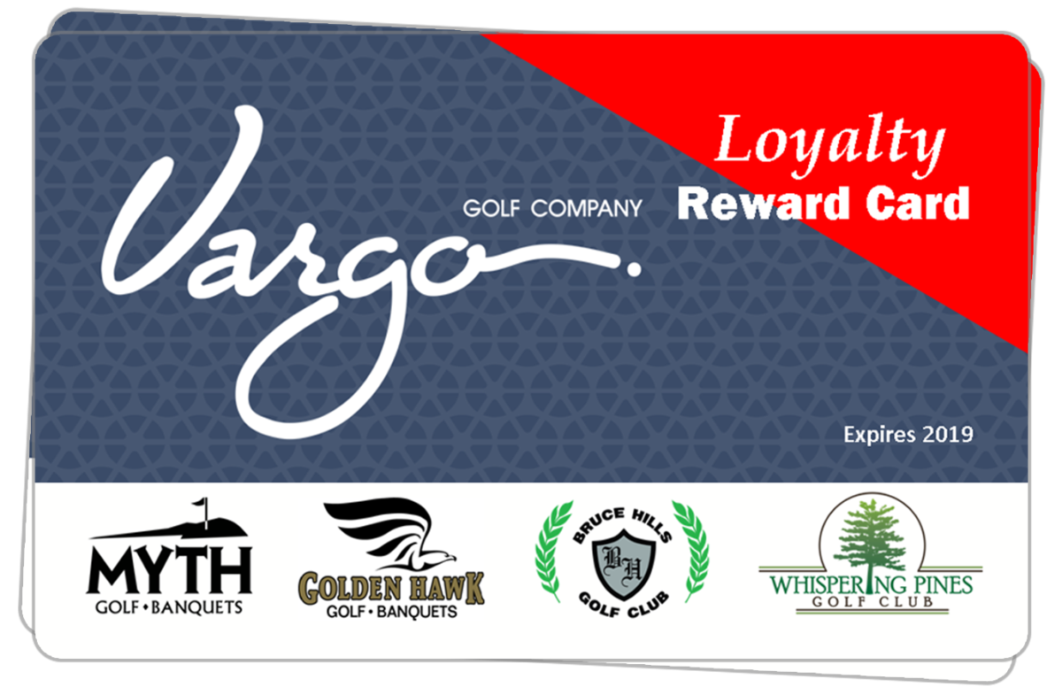 St. Clair County Michigan Area Golf Course Loyalty Discount Card