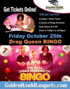 Drag Queen Bingo Near Detroit in Casco Michigan Near Me